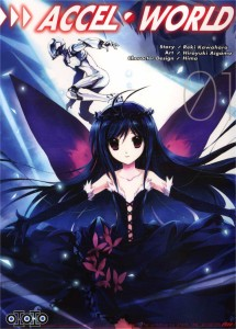 Couverture du tome 1 d'Accel World