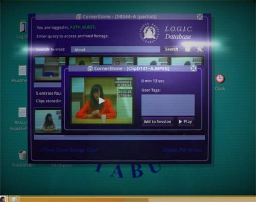 L'écran montre la durée, les tags de l'utilisateur et d'autres méta informations.