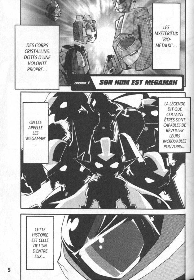 Page 1 du manga Megaman ZX Tome 1