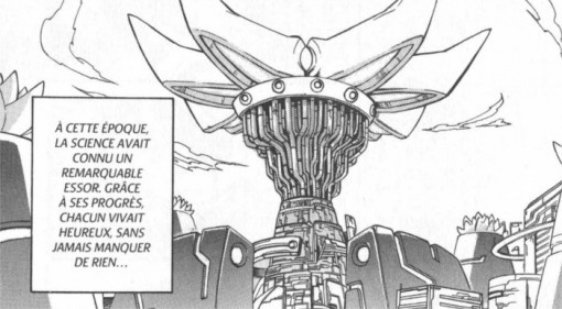 La ville dans le manga Megaman ZX Tome 1