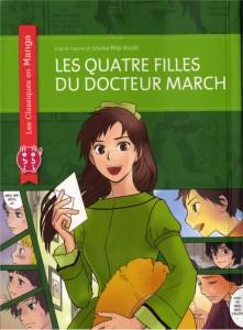 Couverture du manga les 4 filles du docteur March (nobi nobi!)