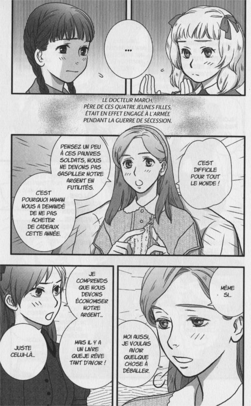 Page 3 du manga les 4 filles du docteur March (nobi nobi!)