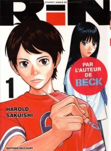 Couverture du tome 1 du manga Rin d'Harold Sakuishi