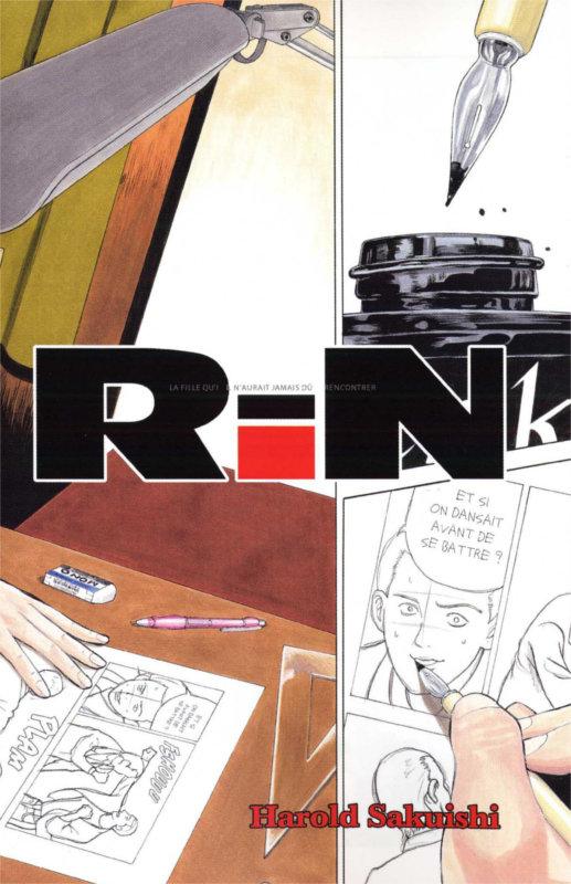 Page 2 du tome 1 du manga Rin d'Harold Sakuishi