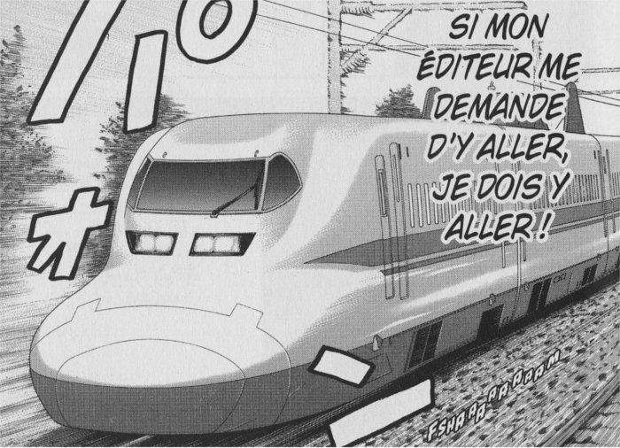Fushima part sur Tokyo aidé Taki pour finir son manga