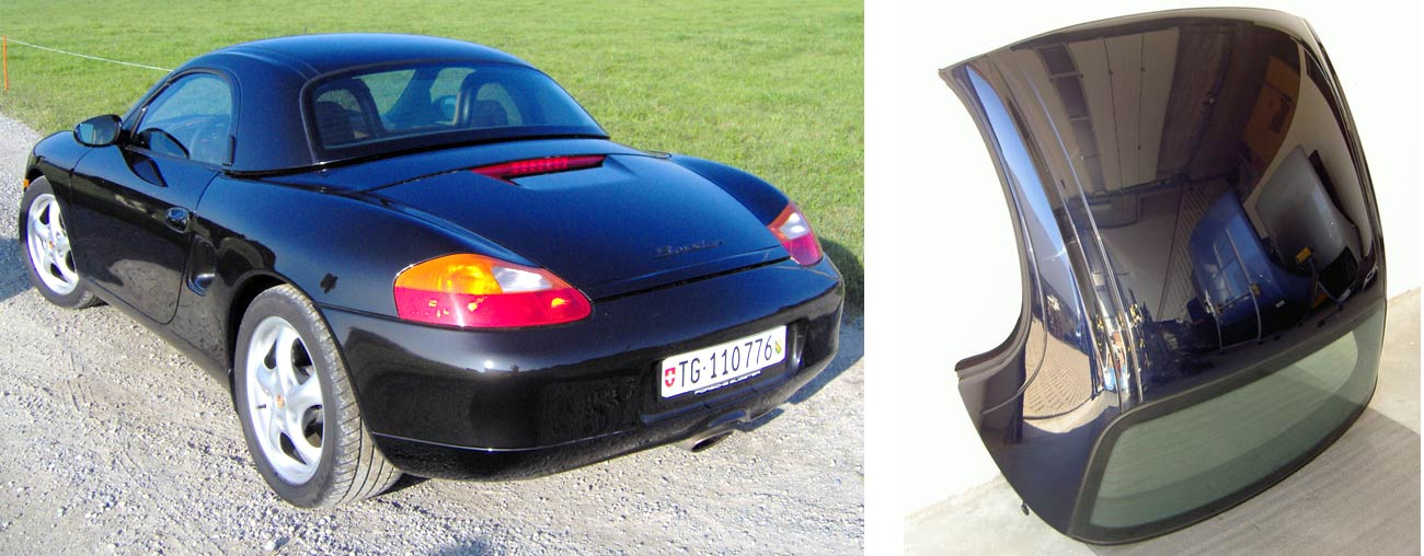 Boxster 986 avec Hard Top