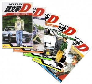Initial_D_manga_collection