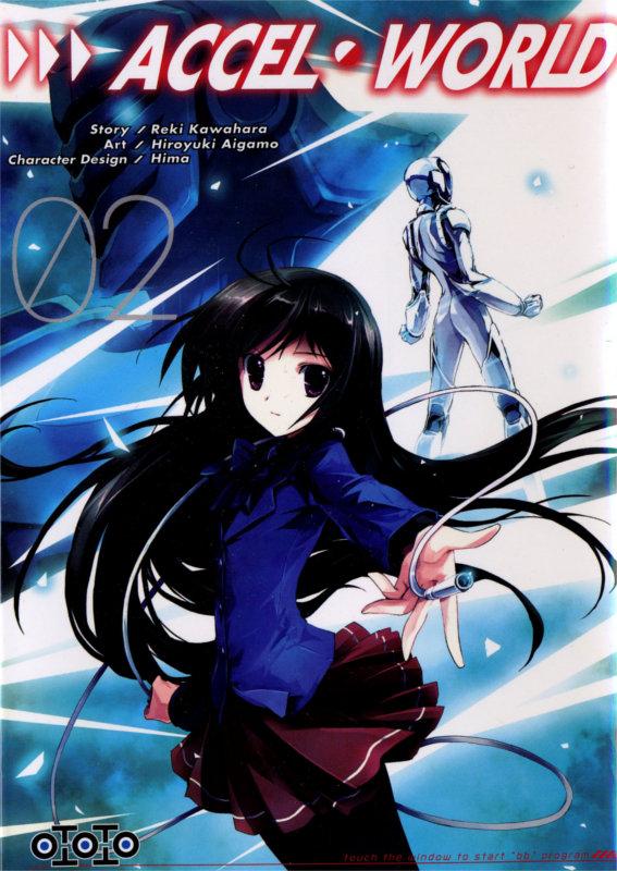 Couverture du tome 2 du manga Accel World