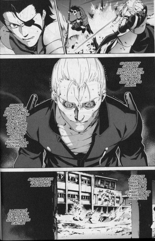 Page 2 du manga Fate Zero Tome 9