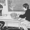 Fushimi et Rin discutent ensemble la nuit avant la séparation du groupe