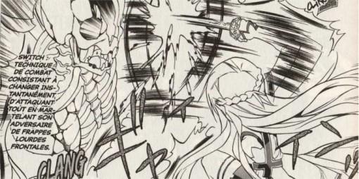 Attaque d'Asuna face au boss du niveau 75