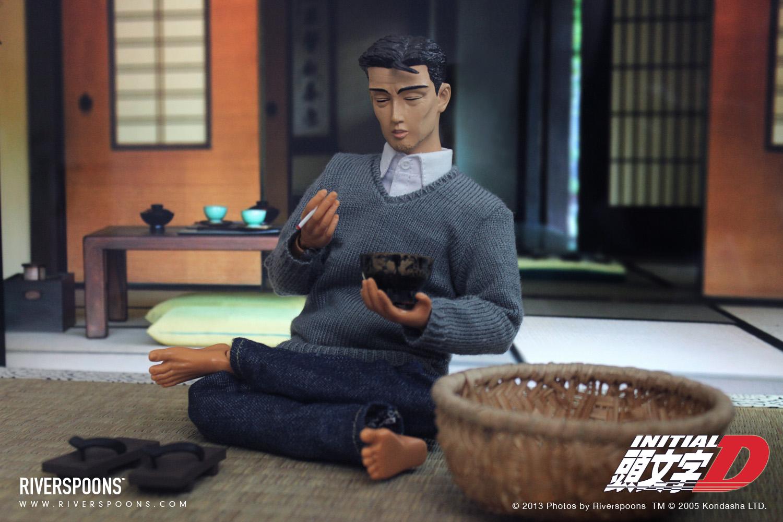 Bunta Fujiwara Initial D figurine