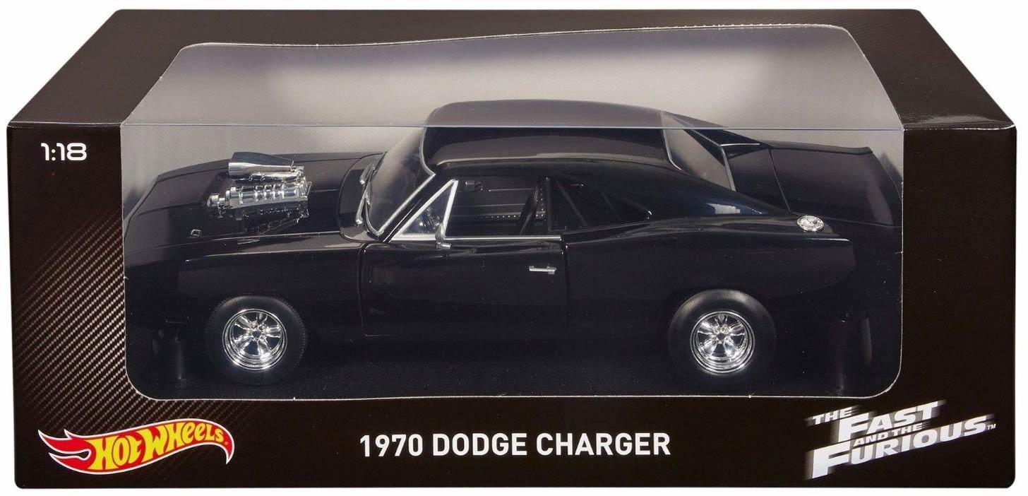 fast furious 1 dodge charger 1970 ech 1 18 hot wheels la packaging de la version bas de. Black Bedroom Furniture Sets. Home Design Ideas