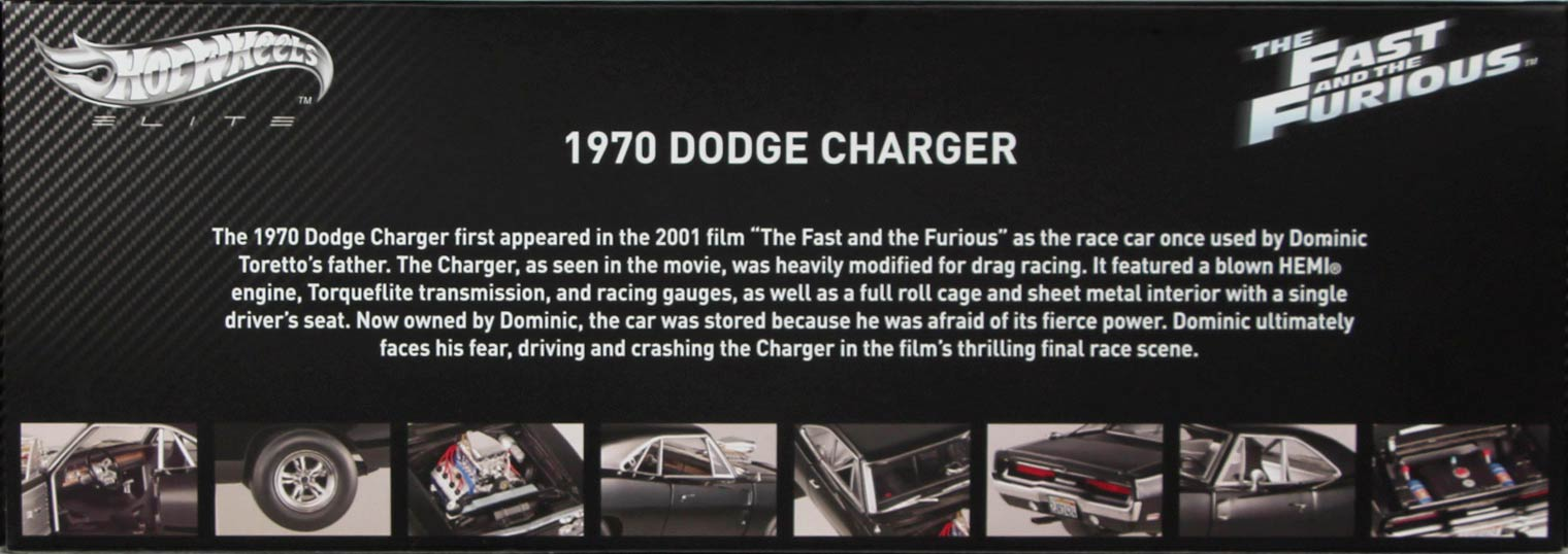 Dodge Charger Fast and Furious Box - boite dos