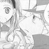Alice et le chapelier dans le manga Alice au pays des merveilles (nobi nobi !)