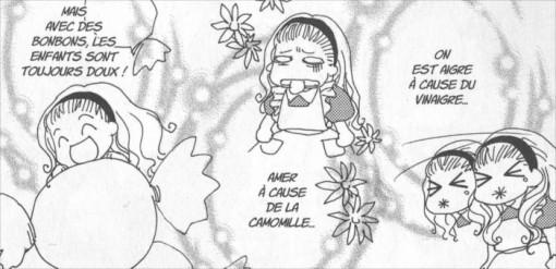 Alice et les différentes humeurs dans le manga Alice au pays des merveilles (nobi nobi !)