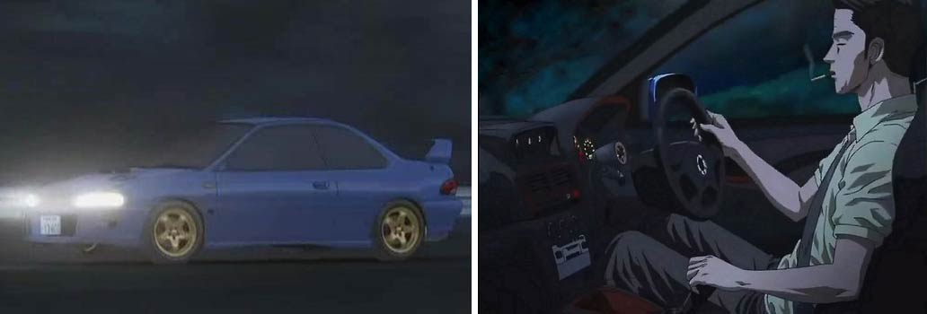 Bunta Fudjiwara et sa Subaru Impreza