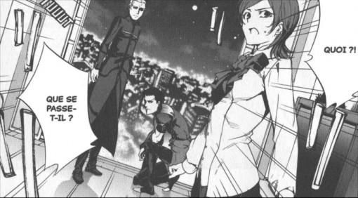Kayneth, Sola-Ui et Lancer entendent l'arrivée de Kiritsugu