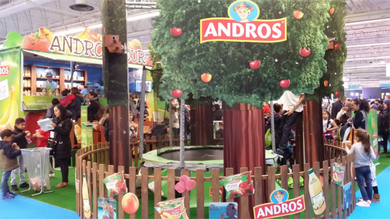 Trampoline Andros (Kid Expo 2015)