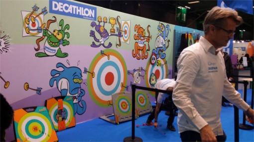 Initiation à l'arc par Decathlon (Kid Expo 2015)