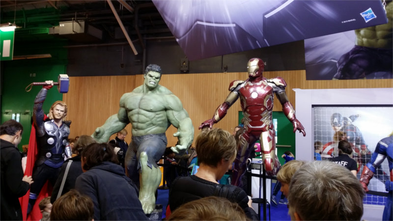 Avenger sur le salon Kid Expo 2015