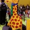 Girafe en Lego sur le salon Kid Expo 2015