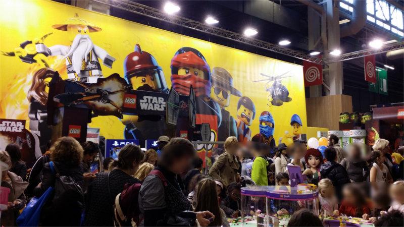 Stang Lego sur le salon Kid Expo 2015