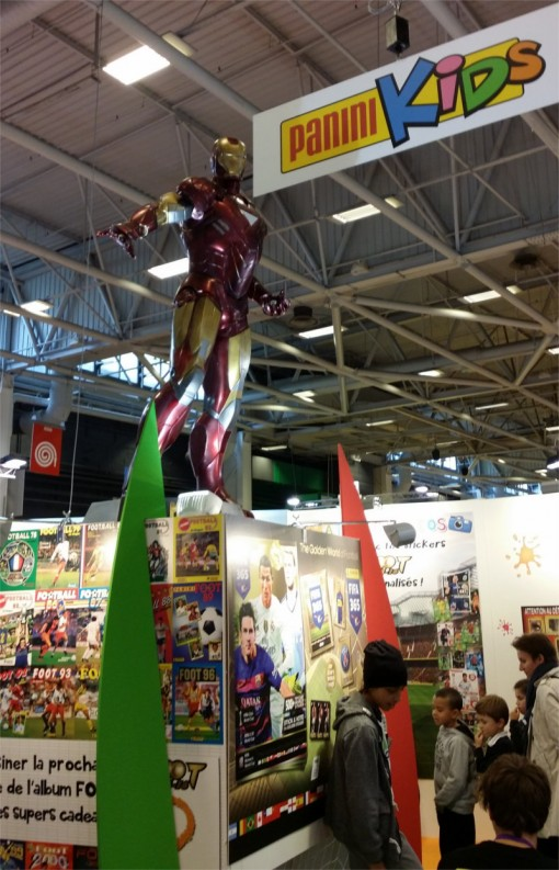 Panini sur le salon Kid Expo 2015