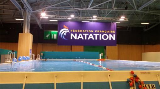Natation par la fédération sur le salon Kid Expo 2015