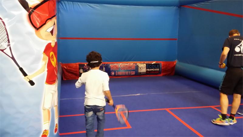 Squash sur le salon Kid Expo 2015