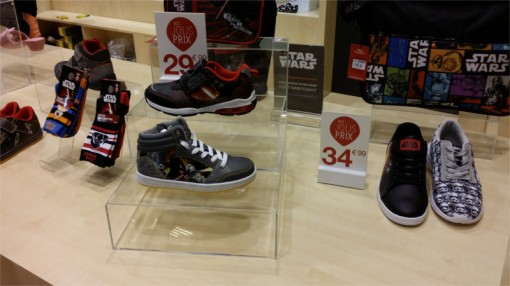 Chaussures Star Wars La Halle sur le salon Kid Expo 2015