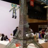 Tour Eiffel en mecano sur le salon Kid Expo 2015