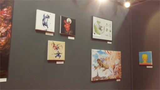 Un espace était dédié au character designer des Final Fantasy mais présentait d'autres oeuvres du dessinateur Japonais. L'auteur était aussi présent pour des signatures et des interviews.