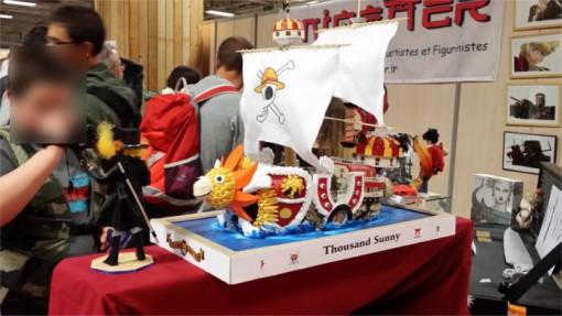 Une des classiques d'Anigetter : les papercraft. Prêt à partir à l'aventure avec le bâteau de One Piece ?