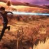 Kirito court pour arriver au premier village en espérant devancer les autres joueurs après l'annonce des nouvelles règles de Sword Art Online