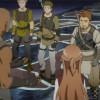 Après le combat contre le boss du premier niveau, les membres du raid discutent sur Kirito et son statut de beater