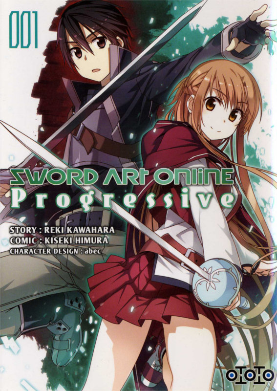 Couverture du manga Sword Art Online Progressive