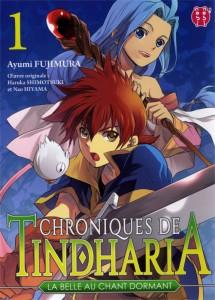 Couverture du tome 1 du manga Chroniques de Tindharia