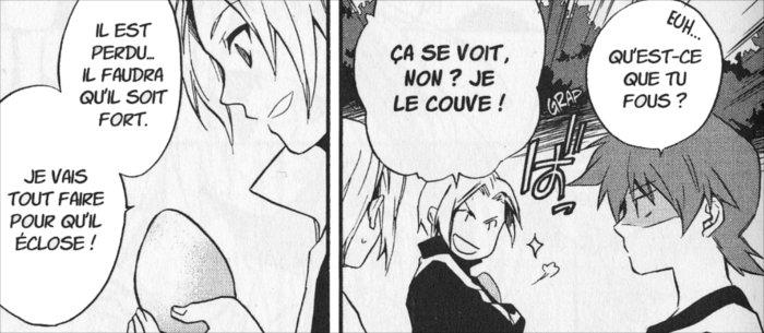 Elfyn dans le manga Chroniques de Tindharia