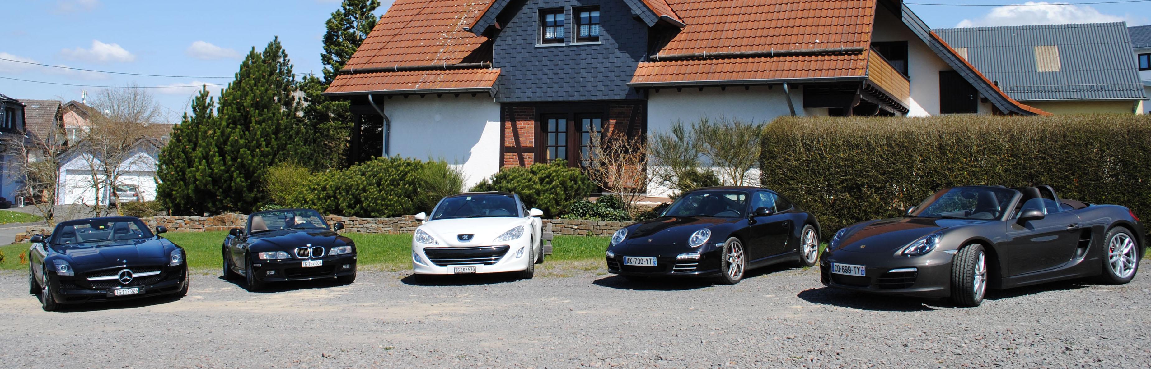 Nurburgring parking hotel