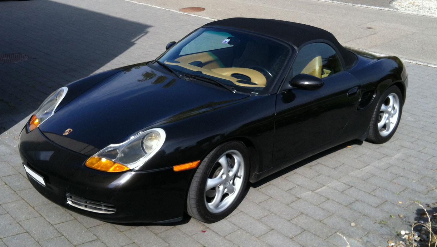 Boxster 986 de 2,5L de 1997 noir