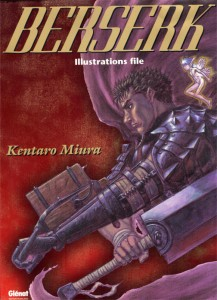 Couverture de l'artbook Berserk Illustration file