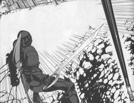 Berserker combat Archer suite à l'ordre de son maître