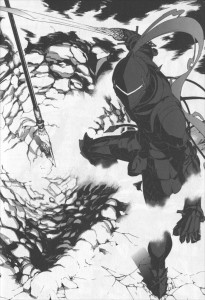 Berserker de face (Fate / zero)