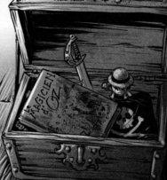 Coffre avec des objets Luffy (One Piece)