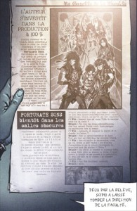 Publicité pour Fortunates' Son