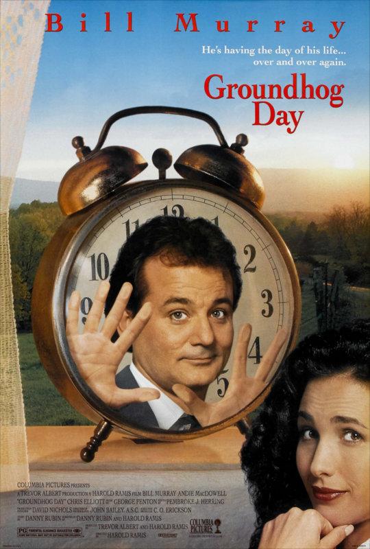 Affiche Groundhog Day : Un jour sans fin