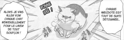 Un chat veut aider Big Boss mais dès qu'il dit quelque chose, son propos est détourné contre Big Boss