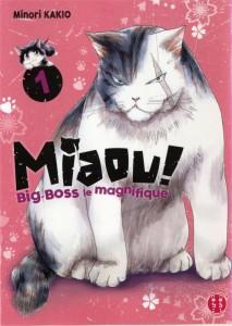 Couverture du manga Miaou ! Big-Boss le magnifique