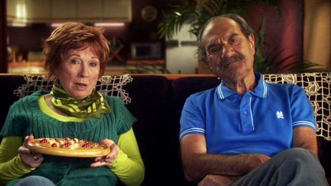 Hughette et Raymond dans Scène de ménage